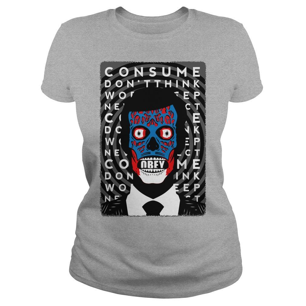 Obey Consume Don't Think Longsleeve