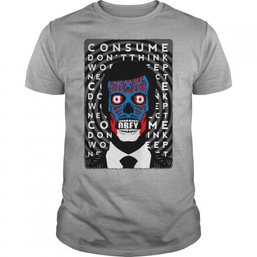 Obey Consume Don't Think Shirt