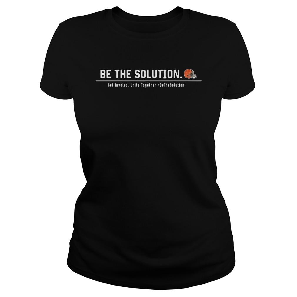 Odell Beckham Be The Solution Get Involved Unite Together Hoodie