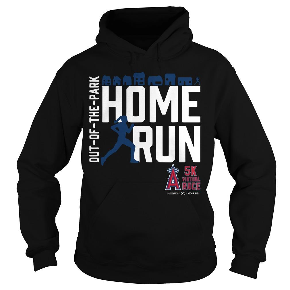 Out Of The Park Home Run 5k Virtual Race Hoodie