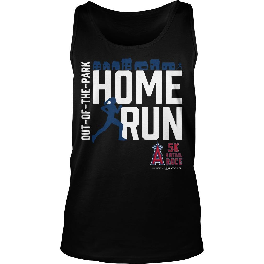Out Of The Park Home Run 5k Virtual Race Tank Top