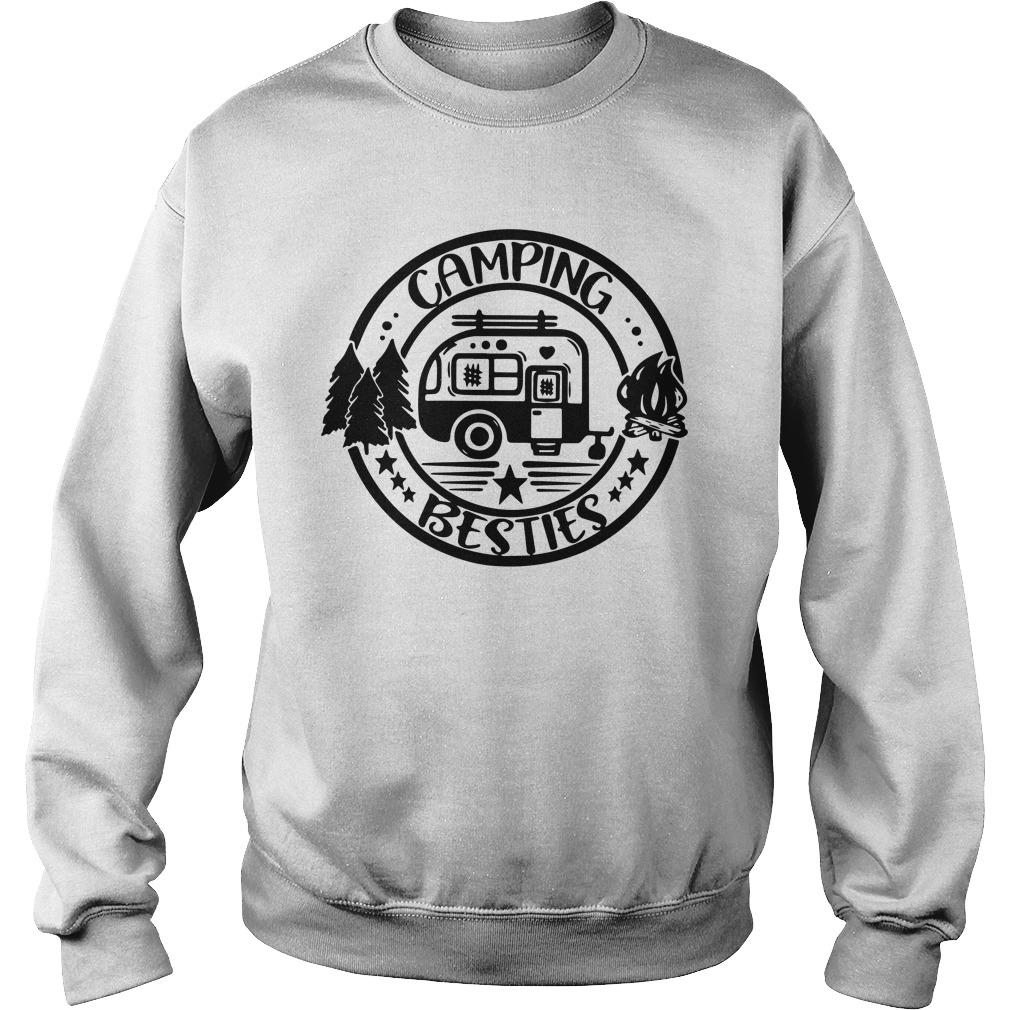 Outdoor Camping Besties Sweater