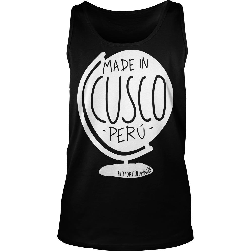 Pieta Corazon Cusqueno Made In Cusco Peru Tank Top