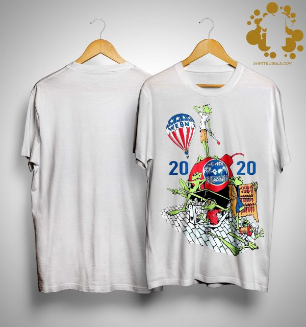 Playlist Webn Fireworks 2020 Shirt