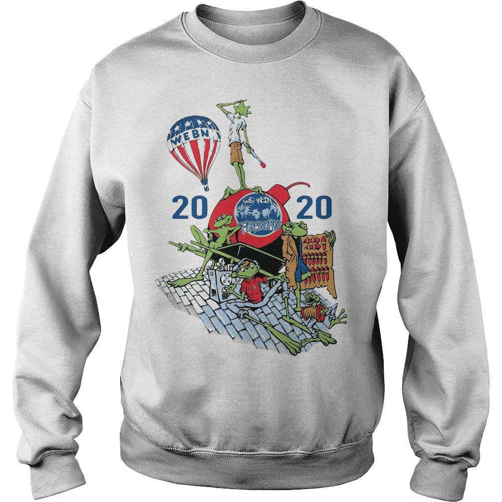 Playlist Webn Fireworks 2020 Sweater