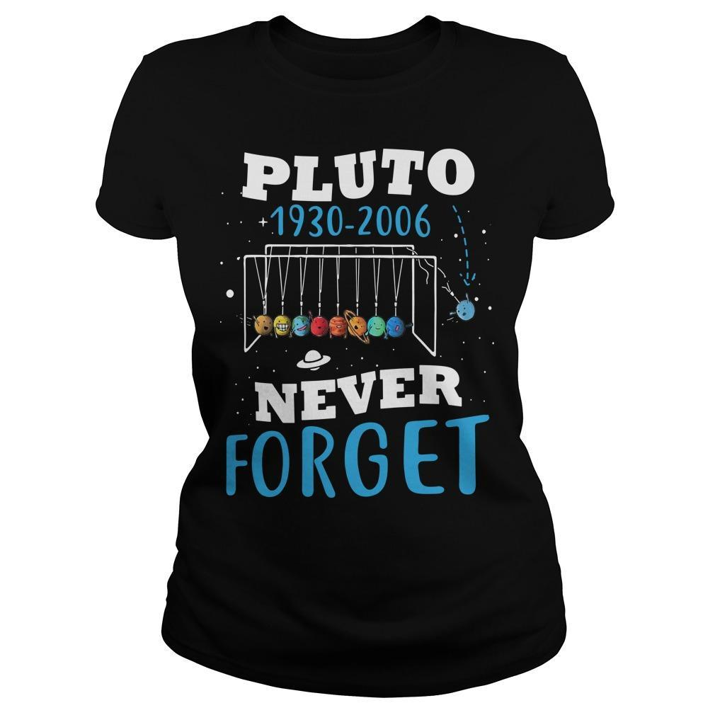 Pluto 1930 2006 Never Forget Longsleeve