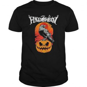 Raven Happy Halloween Shirt