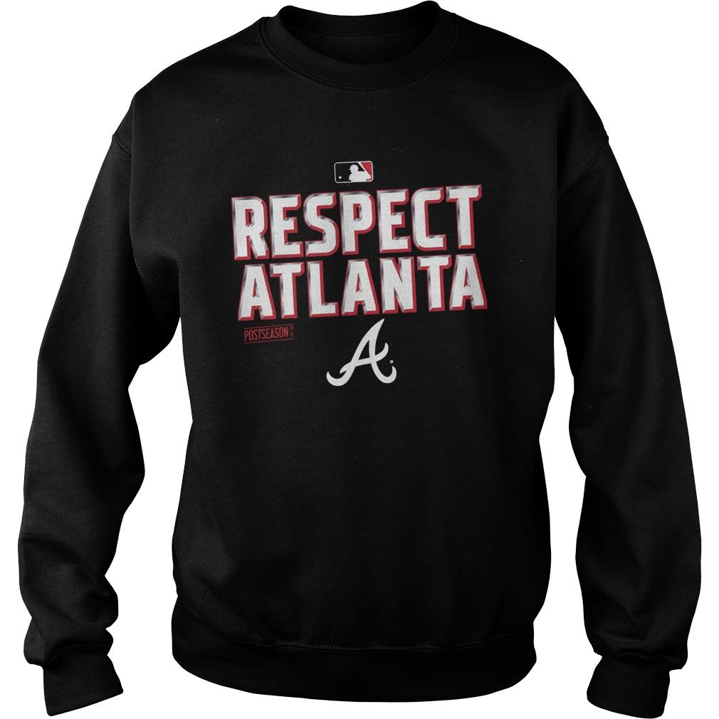 Respect Atlanta Braves Sweater