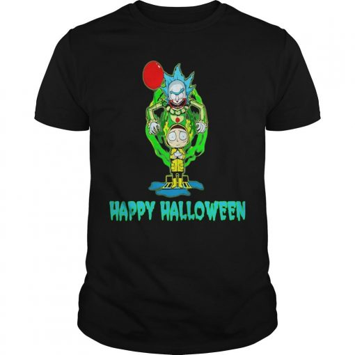 Rick And Morty It Happy Halloween Shirt