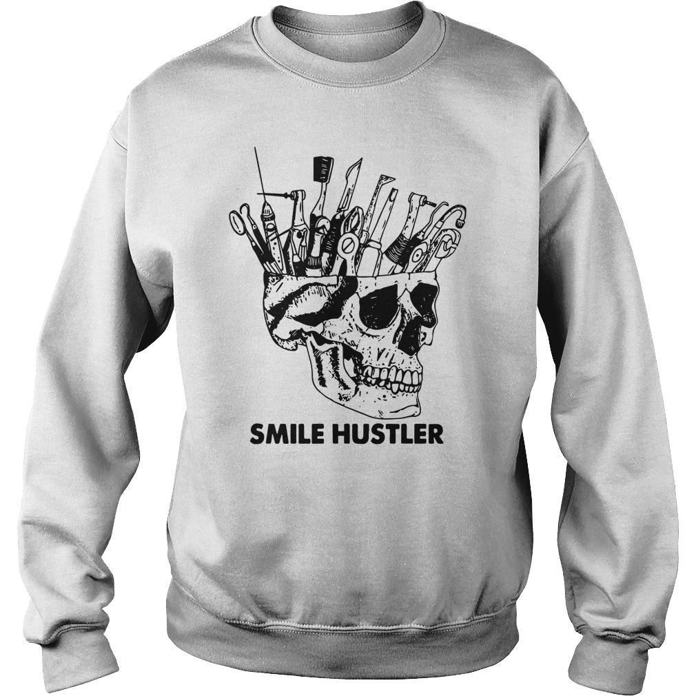 Skull Smile Hustler Sweater
