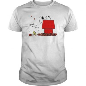Snoopy And Woodstock Rake Rake Rake Shirt