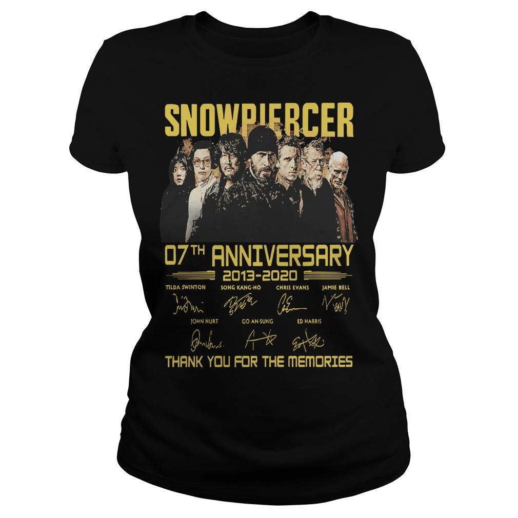 Snowpiercer 07th Anniversary 2013 2020 Thank You For The Memories Longsleeve