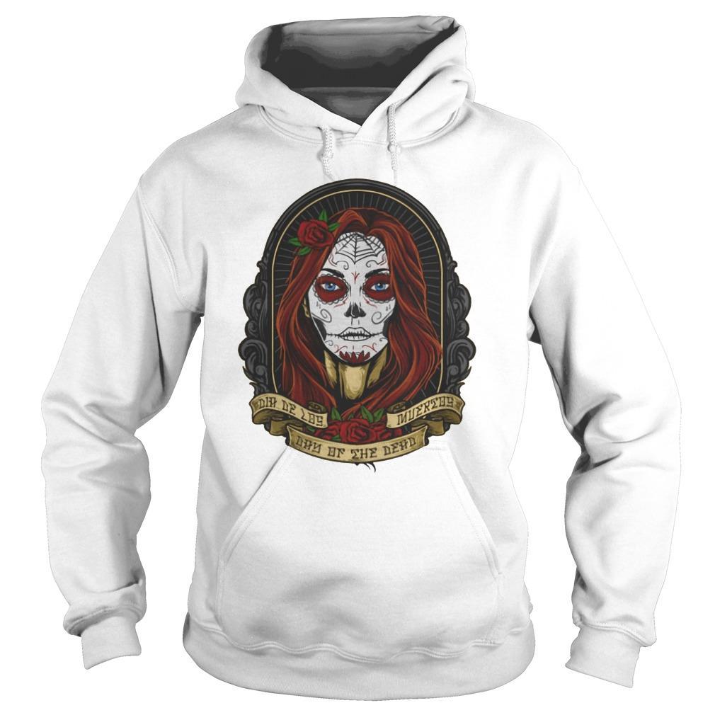 Sugar Skull Girl Dia De Los Muertos Day Of The Dead Hoodie