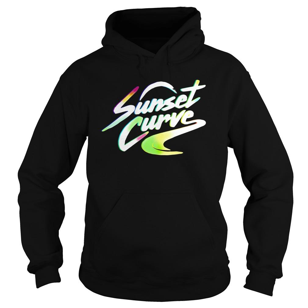 Sunset Curve Hoodie