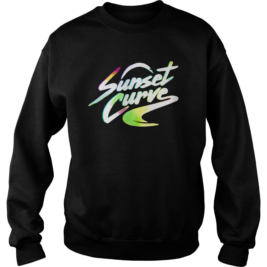 Sunset Curve Sweater