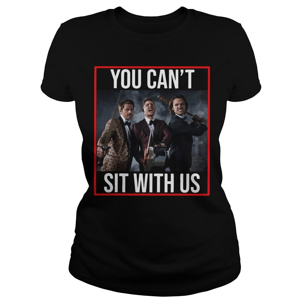 Supernatural You Can't Sit With Us Longsleeve