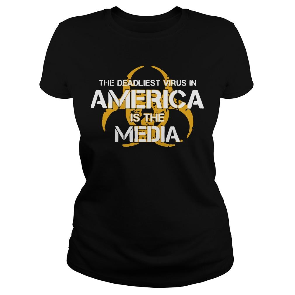 The Deadliest Virus In America Is The Media Longsleeve