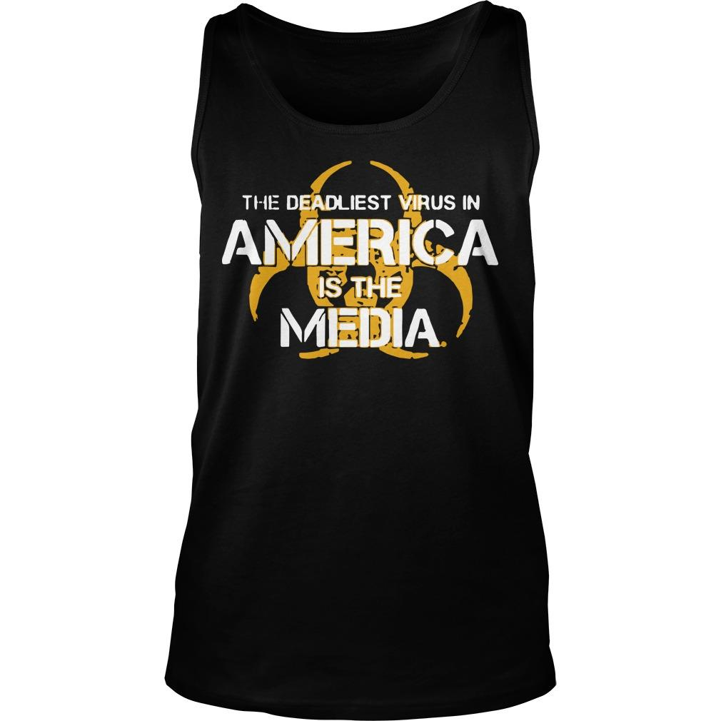 The Deadliest Virus In America Is The Media Tank Top