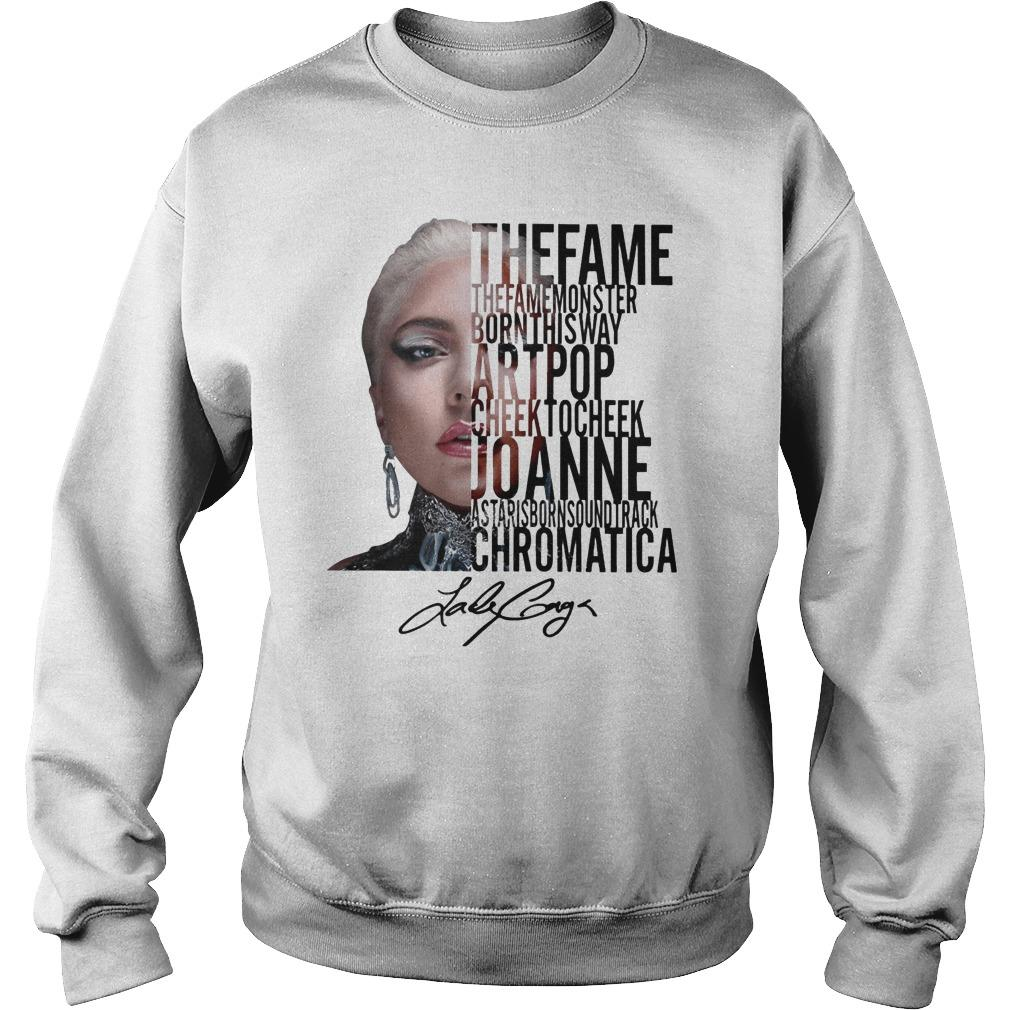 The Fame The Fame Monster Born This Way Art Pop Sweater
