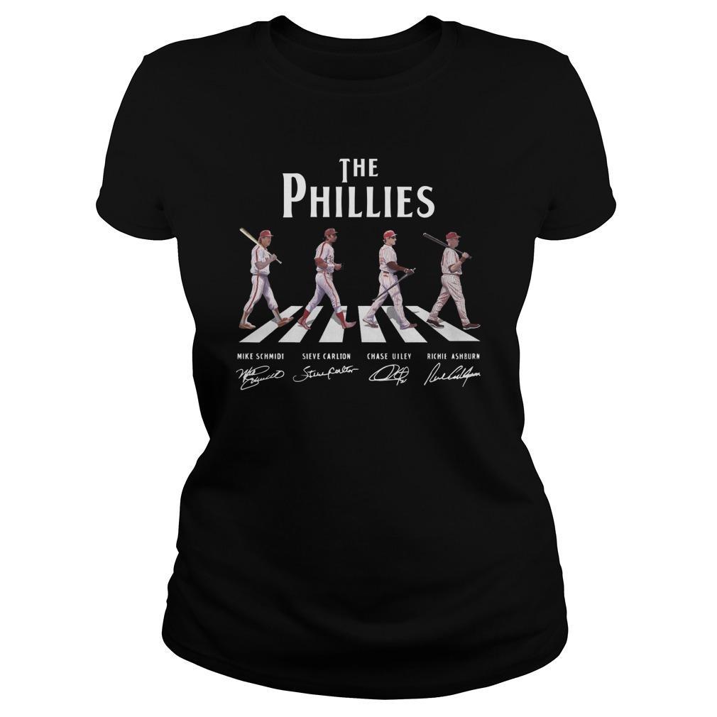 The Phillies Walking Abbey Road Longsleeve