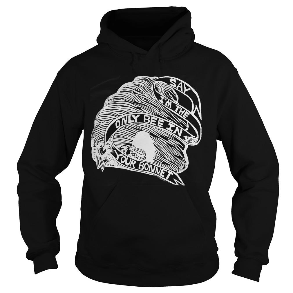 They Might Be Giants Raices Benefit Say I'm The Only Bee In Your Bonnet Hoodie