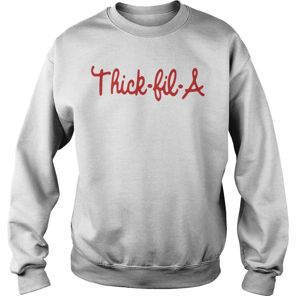 Thick Fil A Sweater