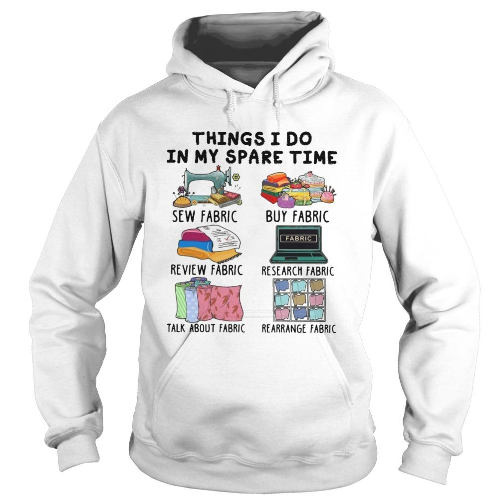 Things I Do In My Spare Time Sew Fabric Review Fabric Hoodie