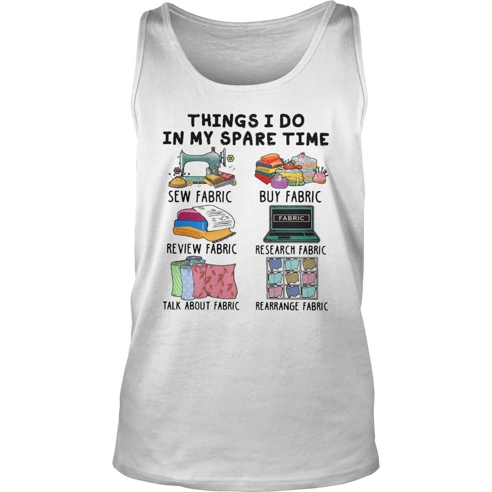 Things I Do In My Spare Time Sew Fabric Review Fabric Tank Top
