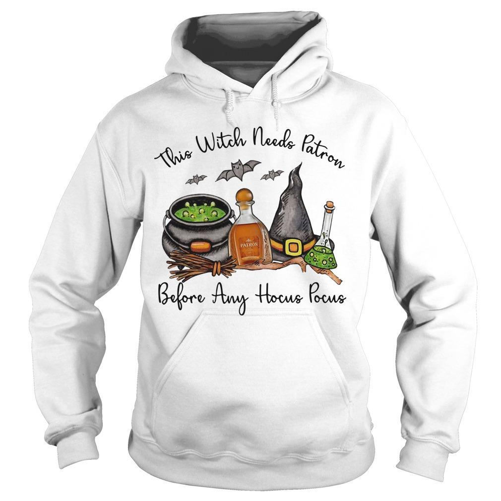This Witch Needs Patron Before Any Hocus Pocus Hoodie