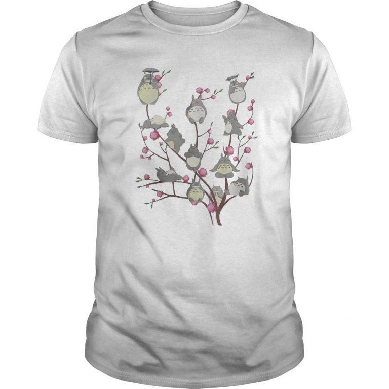Totoro Cherry Blossom Shirt