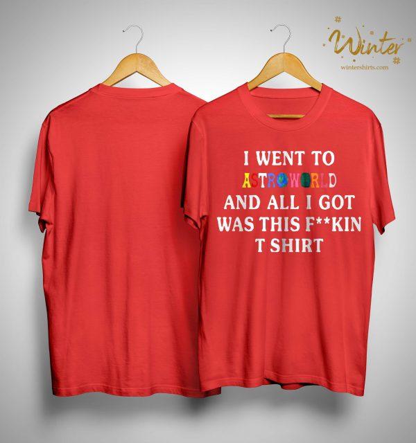 Travis Scott Mcdonalds T Shirt