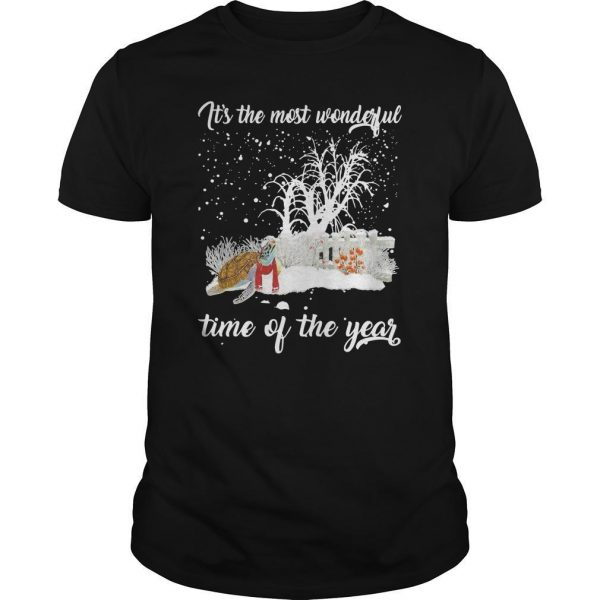 Turtle It's The Most Wonderful Time Of The Year Shirt