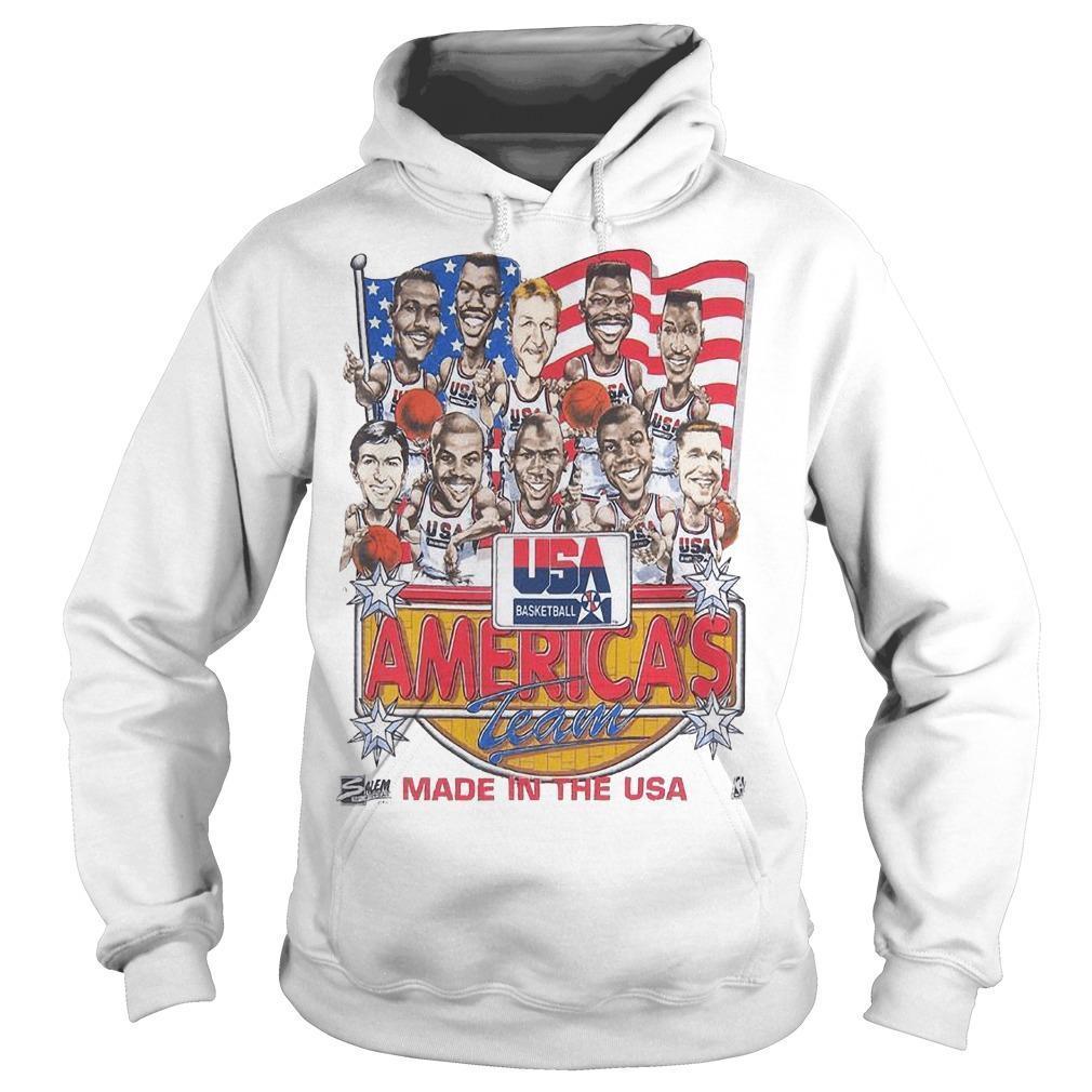Usa Basketball America's Team Made In The Usa Hoodie