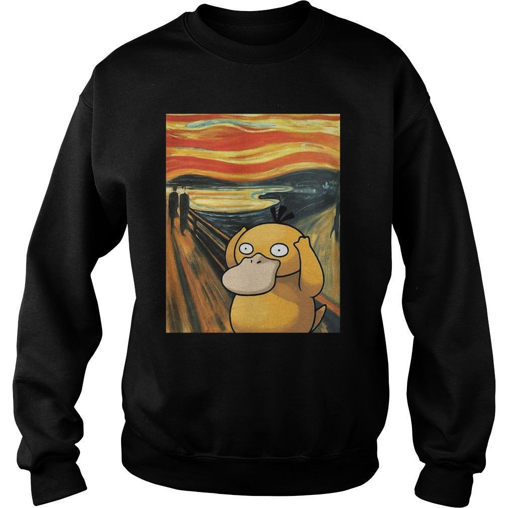 Van Gogh Koduck Scream Painting Sweater