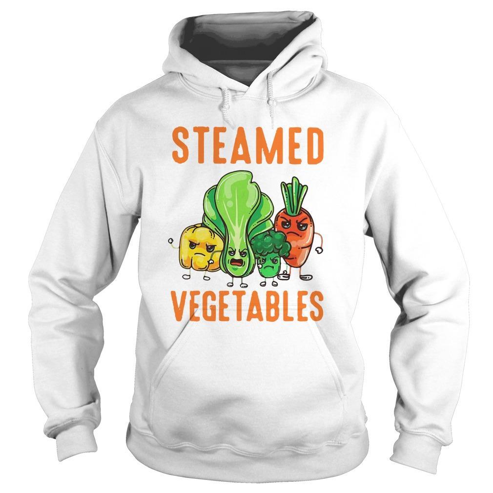 Vegan Vegetarians Steamed Vegetables Hoodie