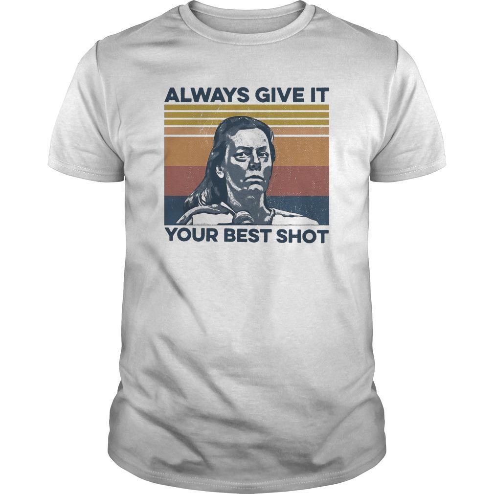 Vintage Always Give It Your Best Shot Longsleeve