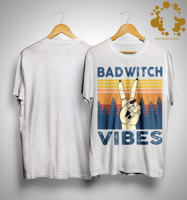 Vintage Bad Witch Vibes Shirt