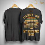 Vintage Carry On My Wayward Son Shirt