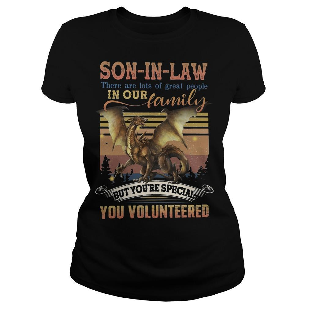Vintage Son In Law There Are Lots Of Great People In Our Family Longsleeve