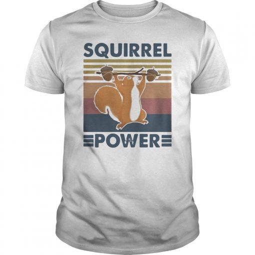 Vintage Squirrel Power Shirt