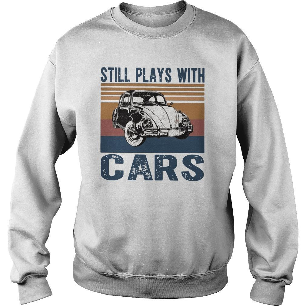 Vintage Still Plays With Cars Sweater