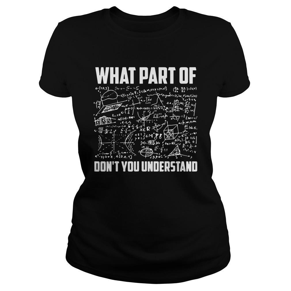 What Part Of Don't You Understand Longsleeve