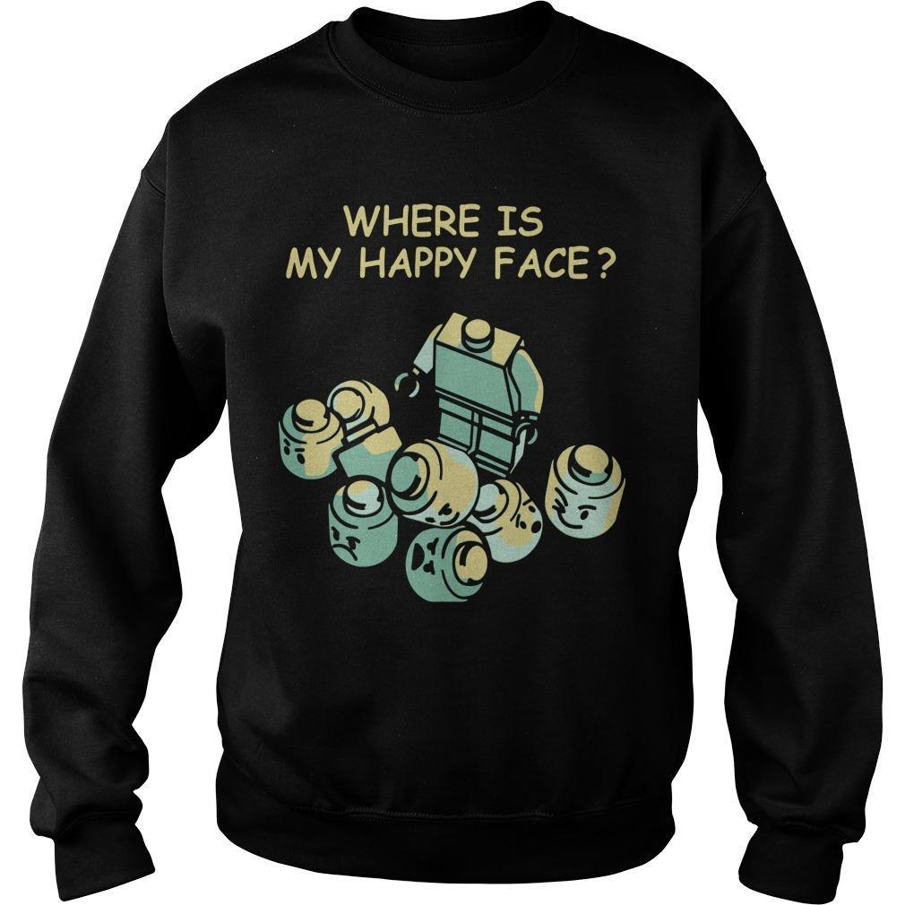 Where Is My Happy Face Sweater
