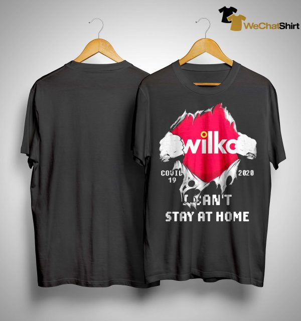 Wilko Covid 19 2020 I Can't Stay At Home Shirt