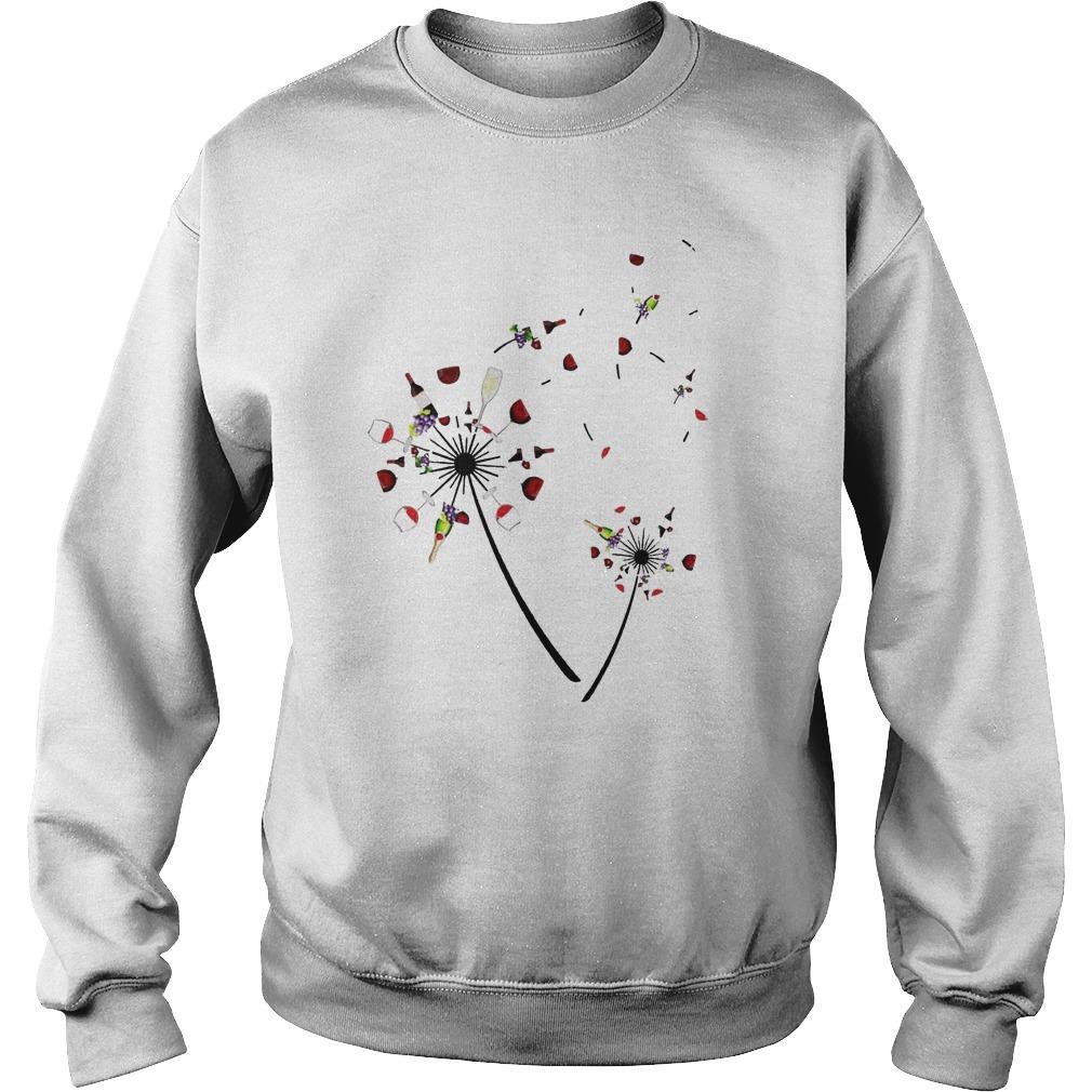 Wine Dandelion Sweater