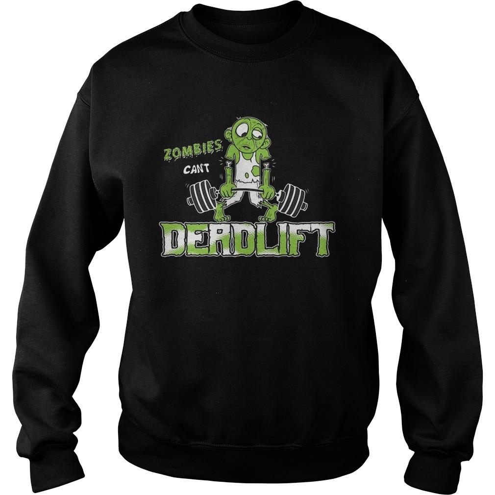 Zombies Can't Deadlift Sweater