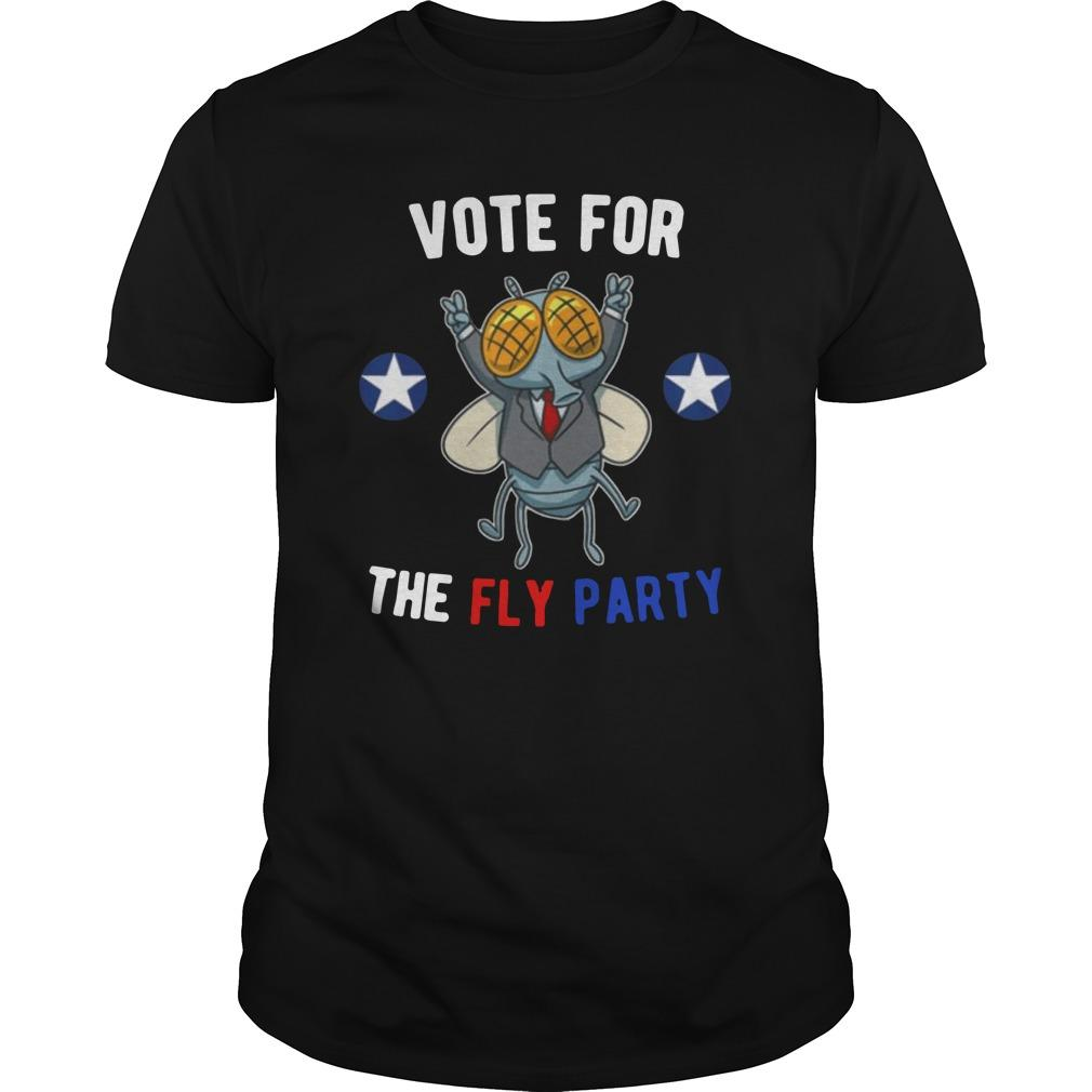 2020 Election Vote For The Fly Party Longsleeve