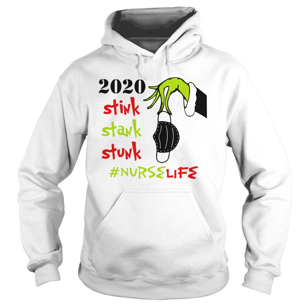 2020 Stink Stank Stunk #nurselife Hoodie