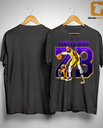 23 James Lebron Finals Mvp Shirt