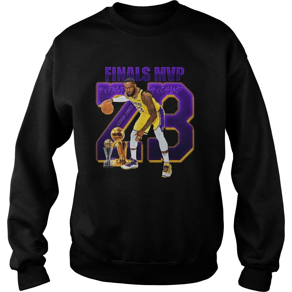 23 James Lebron Finals Mvp Sweater